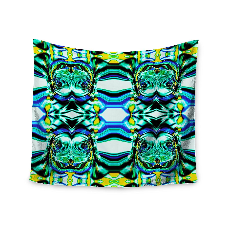 Kess interno de 68 x 80 pulgadas pulgadas pulgadas Dawid Roc 'inspirado por Psychedelic Art 6