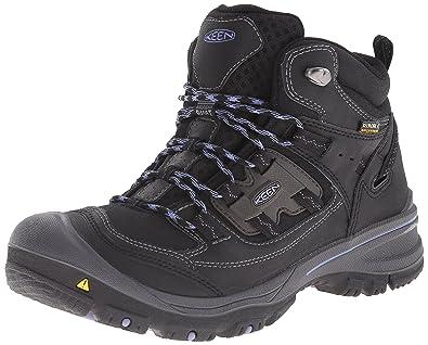 2c67ceb4e4 KEEN Logan Mid WP W Chaussures de randonnée black: Amazon.fr ...