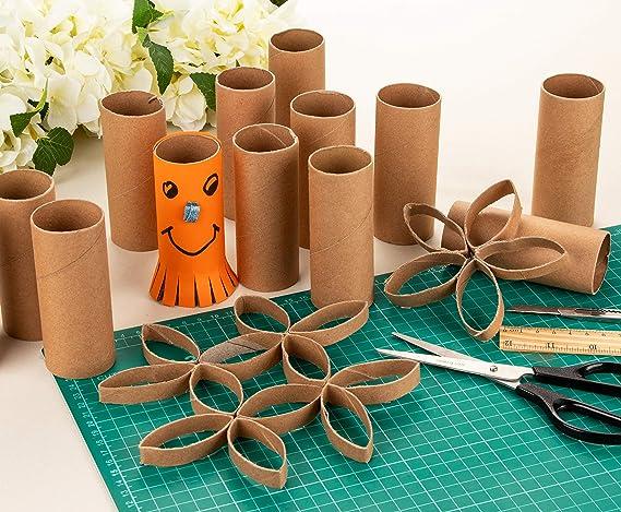 Genie Crafts paquete de 24 tubos de papel de cartón para niños ...