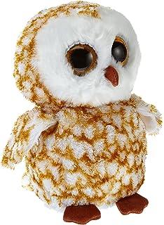 Ty Beanie Boos Buddies Swoops Brown Barn Owl Medium Plush ce8f3e2cbaee