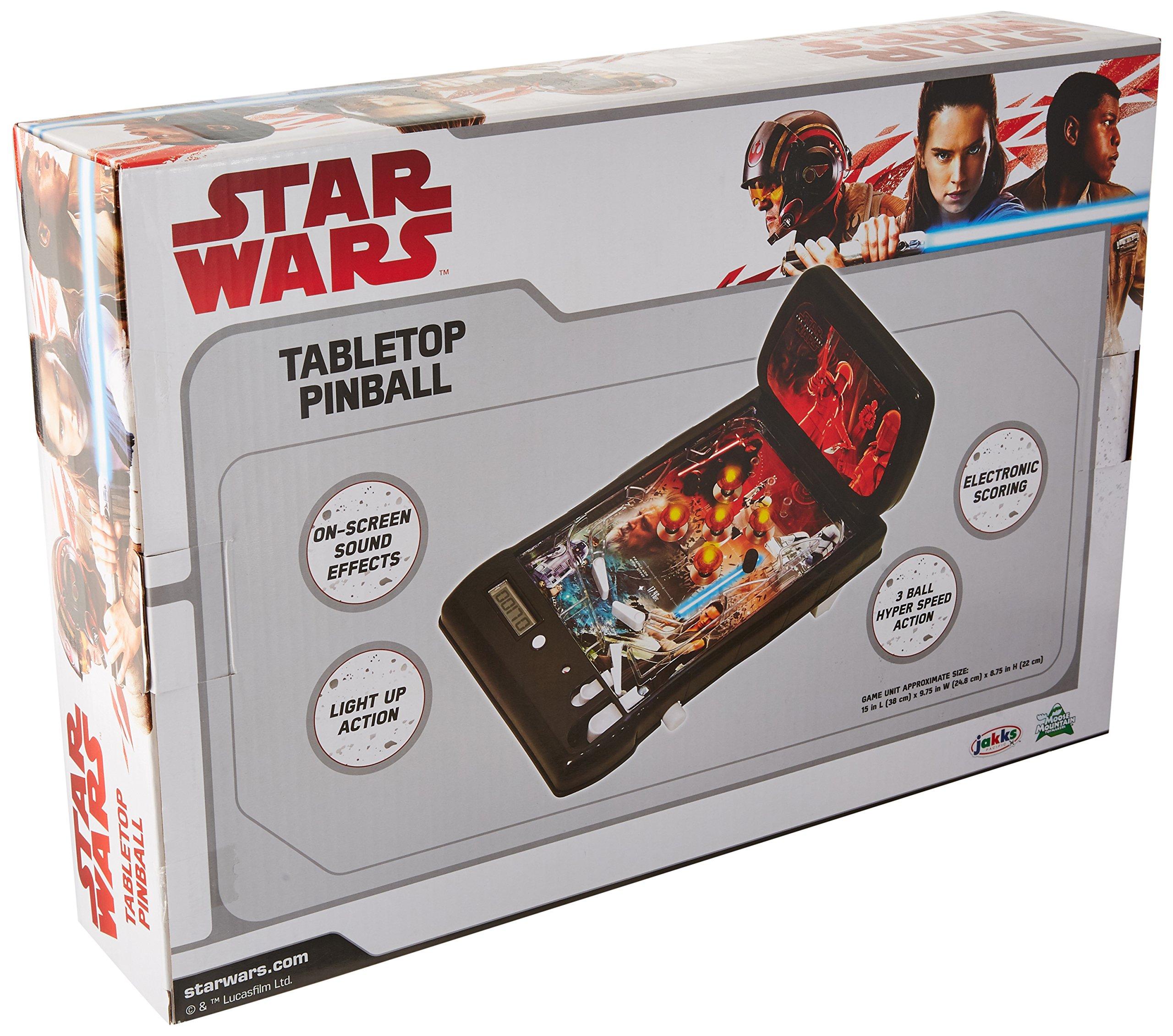 Star Wars The Last Jedi Tabletop Pinball by Star Wars (Image #2)