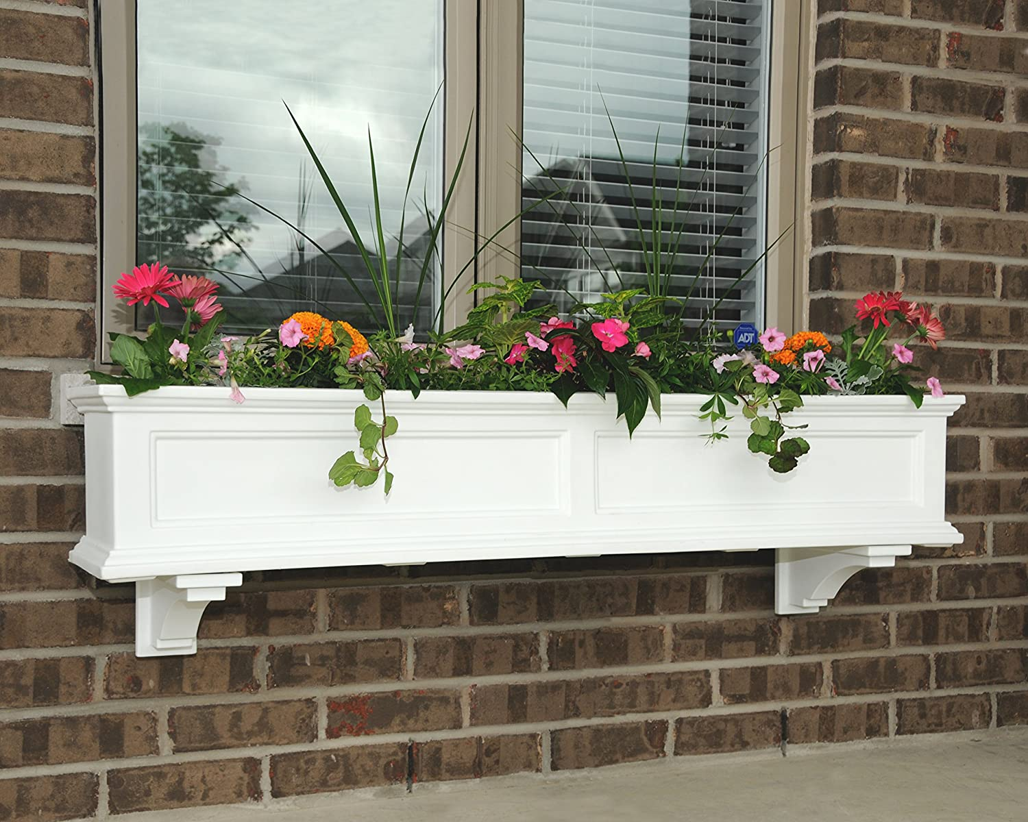 sill planter beautiful diy indoor narrow planters box boxes flower filled plans cheap window