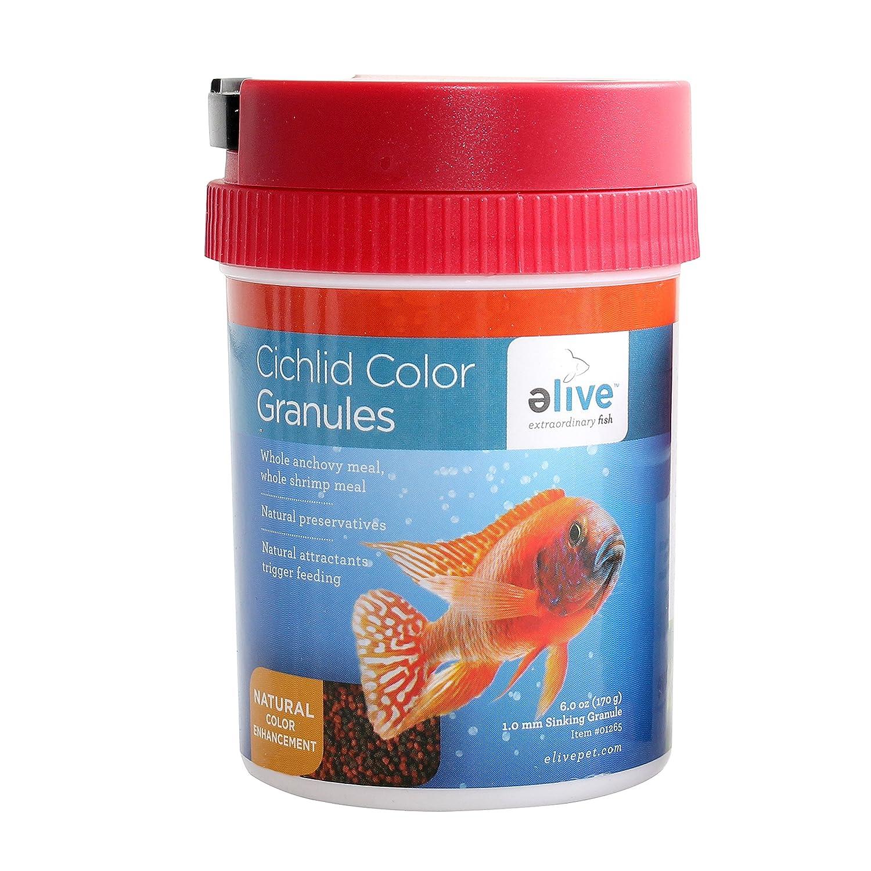 Amazon.com : ELIVE Cichlid Color Granules for Pets, 6 oz. : Pet Supplies