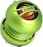 XMI Xmini Uno - Mini altavoz portátil para iPhone/iPad/iPod/MP3 Player/Portátil - Verde