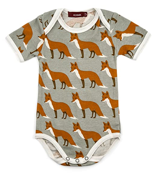 425f3d2bd Amazon.com  Milkbarn Short Sleeve Onesie