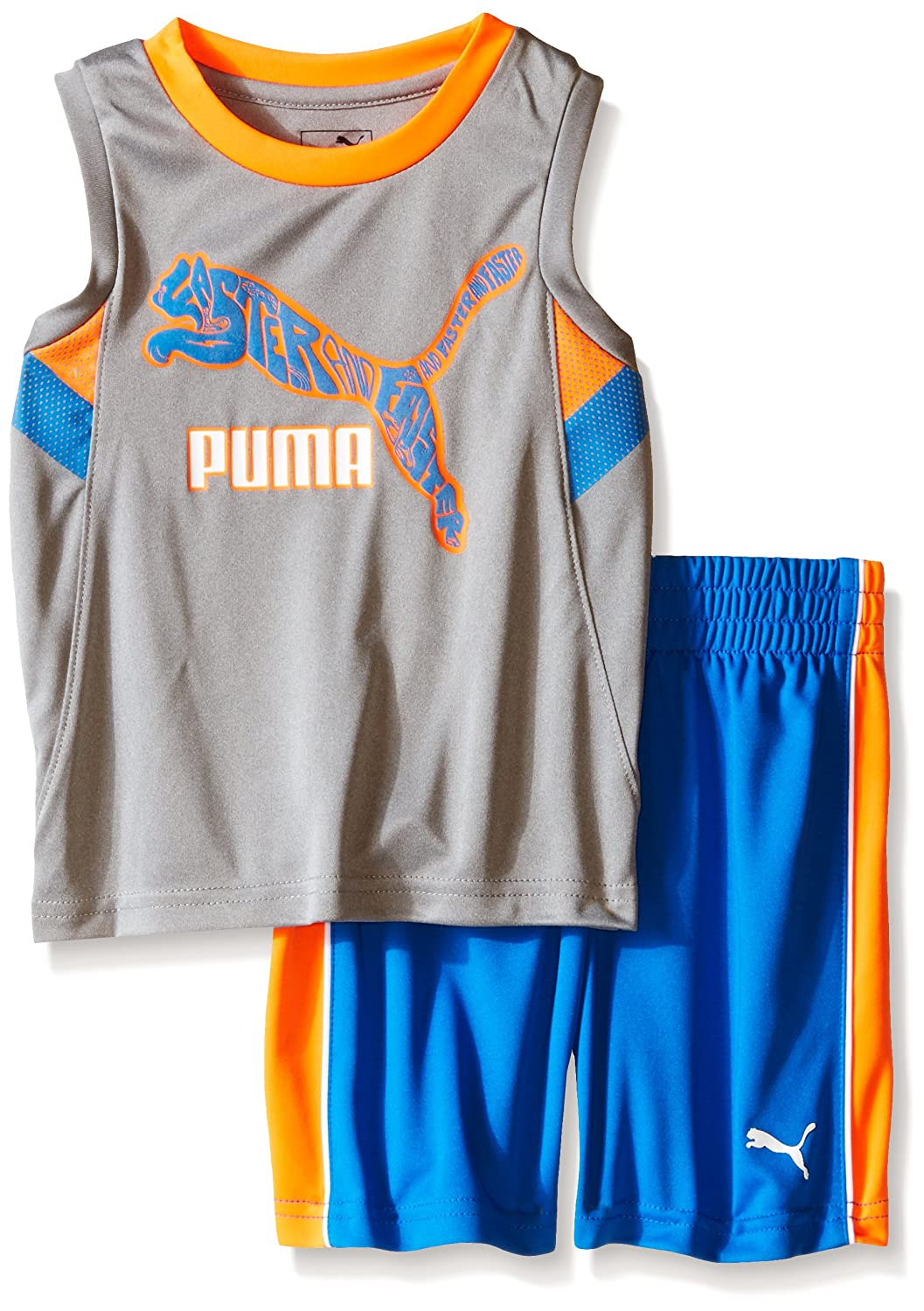 PUMA Boys Active Tank and Short Set 71165046