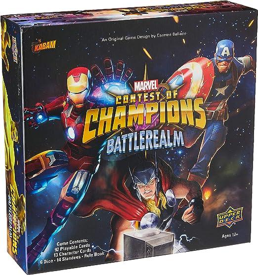 Upper Deck Marvel Contest of Champions: Battlerealm: Amazon.es: Juguetes y juegos