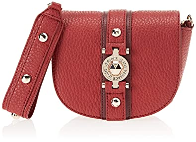 b717113482d2 Image Unavailable. Image not available for. Color  Versace EE1VSBBF5 E331  Red Shoulder Bag ...