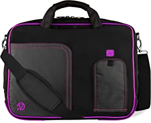 """Purple Laptop Bag for Dell Latitude, Inspiron, Precision, XPS, Alienware, Vostro, G3 G5 G7 Gaming 14"""" to 15.6 inch"""