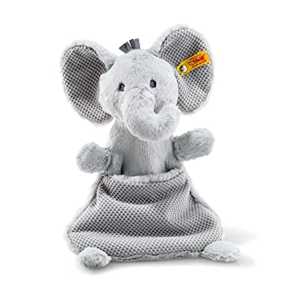 Amazon Com Ellie Elephant Comforter Grey 11 Inch Baby Stuffed
