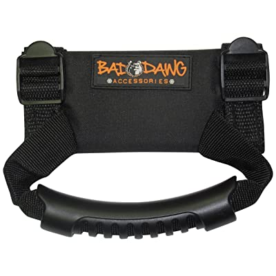 Bad Dawg Accessories 693-3680-00 Black Grab Assist Handle: Automotive