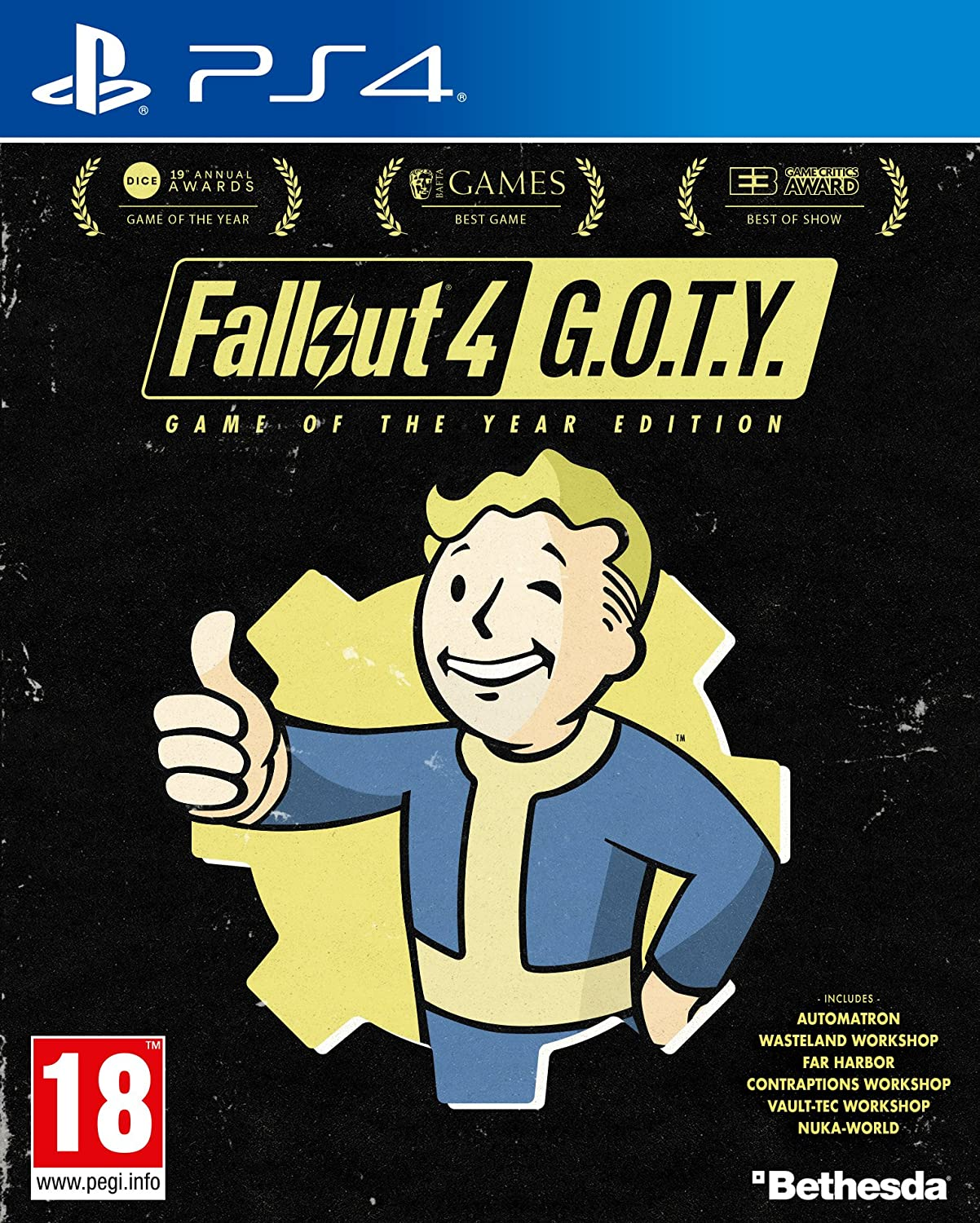 Fallout 4 Goty (PS4): Amazon co uk: PC & Video Games