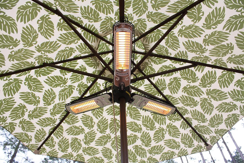 Lovely Amazon.com : Fire Sense Indoor/Outdoor Infrared Heater With Patio Umbrella  Pole Attachment : Portable Outdoor Heating : Patio, Lawn U0026 Garden