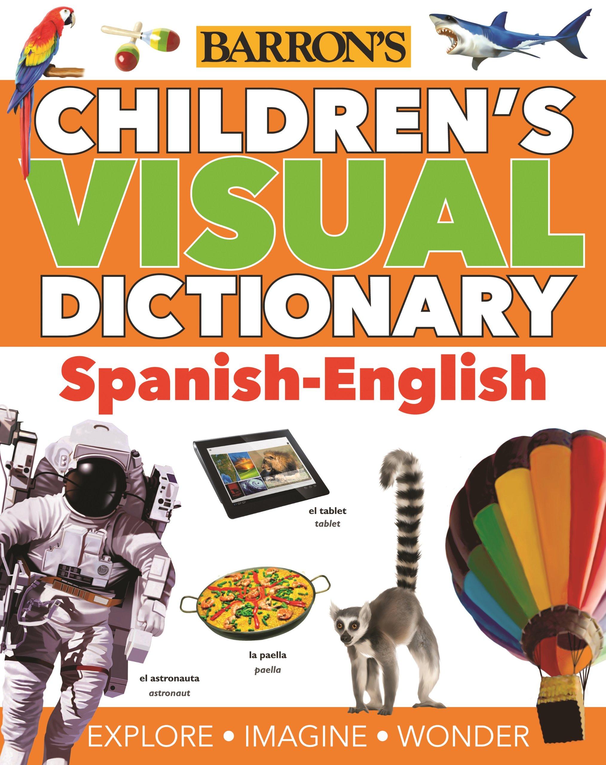 Children s visual dictionary spanish english children s visual dictionaries oxford university press 9781438004525 amazon com books