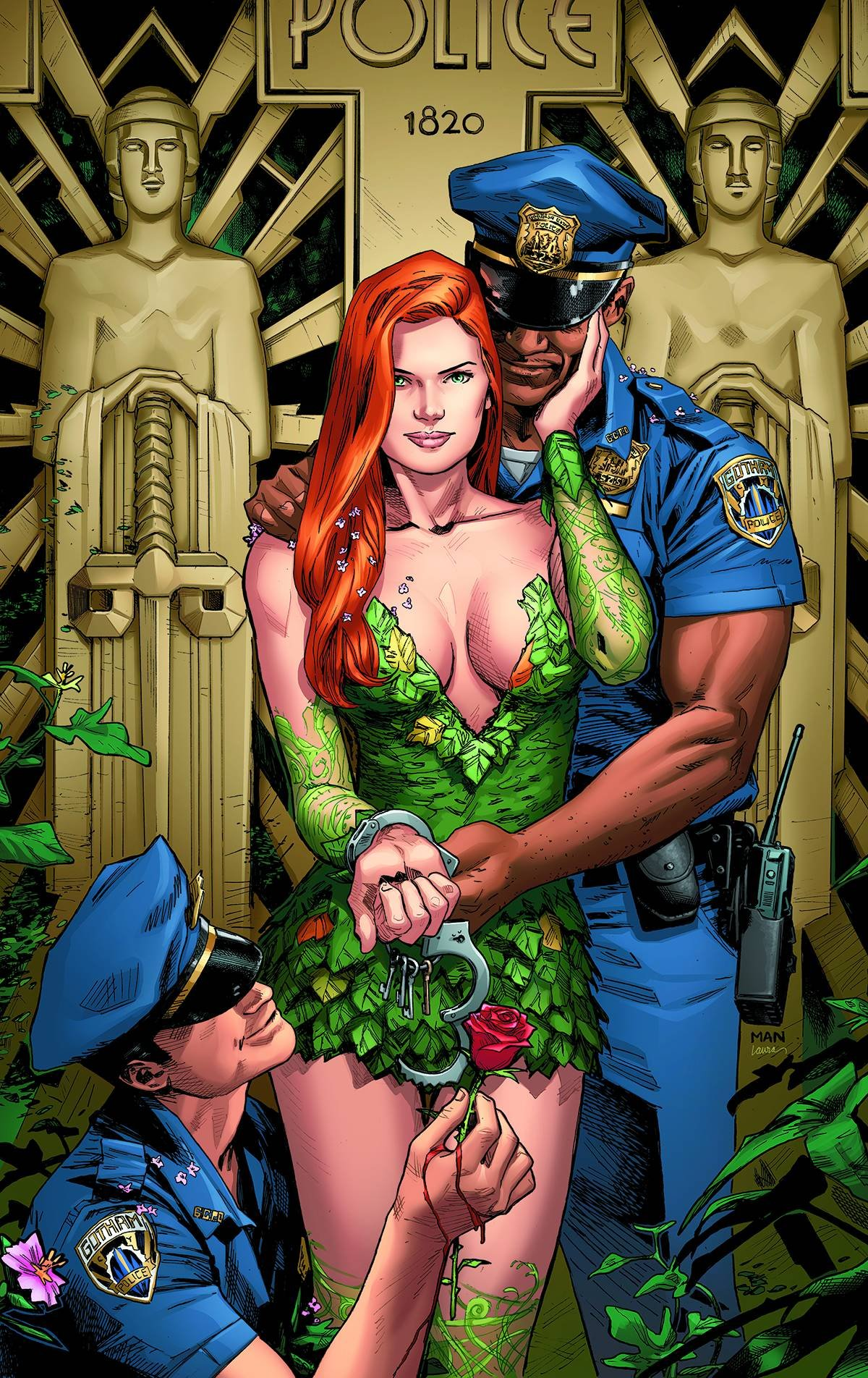 comic Poison ivy