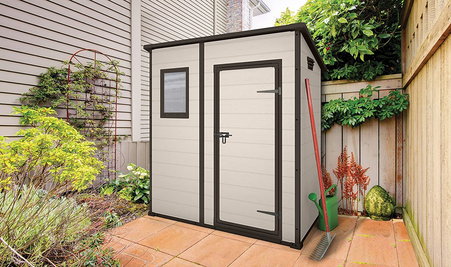 ft tans depot shed sheds plastic factor garden the browns p storage home keter x outdoor