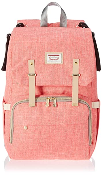 c54a587d23ae Amazon.com   B+S Land 2018 New Model Baby Diaper Bag Large Capacity Mommy  Backpack Baby Nappy Tote Bags Multi-Function Travelling Backpack for Mom ...
