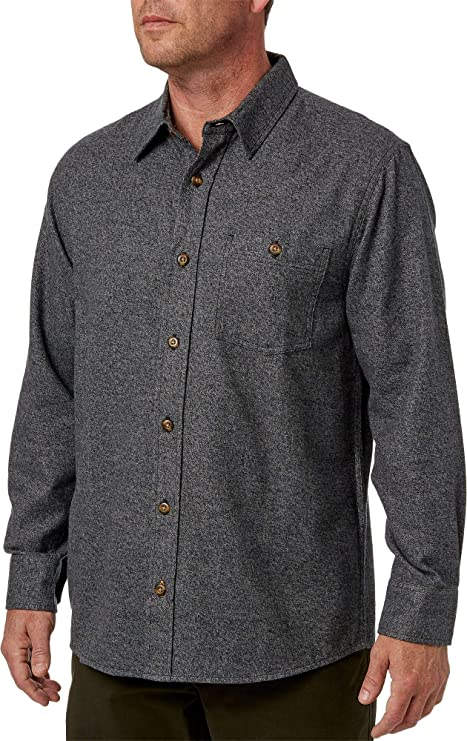 Field & Stream Camisa de Manga Larga para Hombre con Textura ...