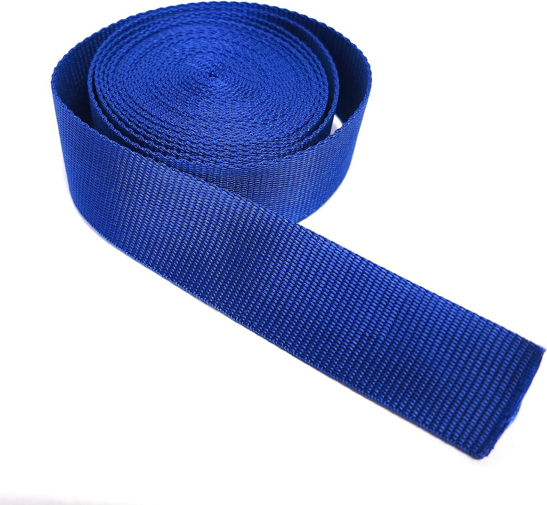 de varias longitudes2/m moda y accesorios // azul correa para cascos 50/m mochilas Cinta de nailon 20/m bolsos 10/m 100/m x 3 cm de alto y 4 cm de alto. 5/m