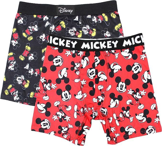 Disney Mens Classic Mickey Boxers