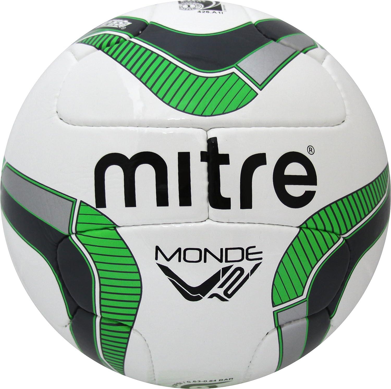 Mitre Monde v12sサッカーボール B0112RLC2E グリーン グリーン