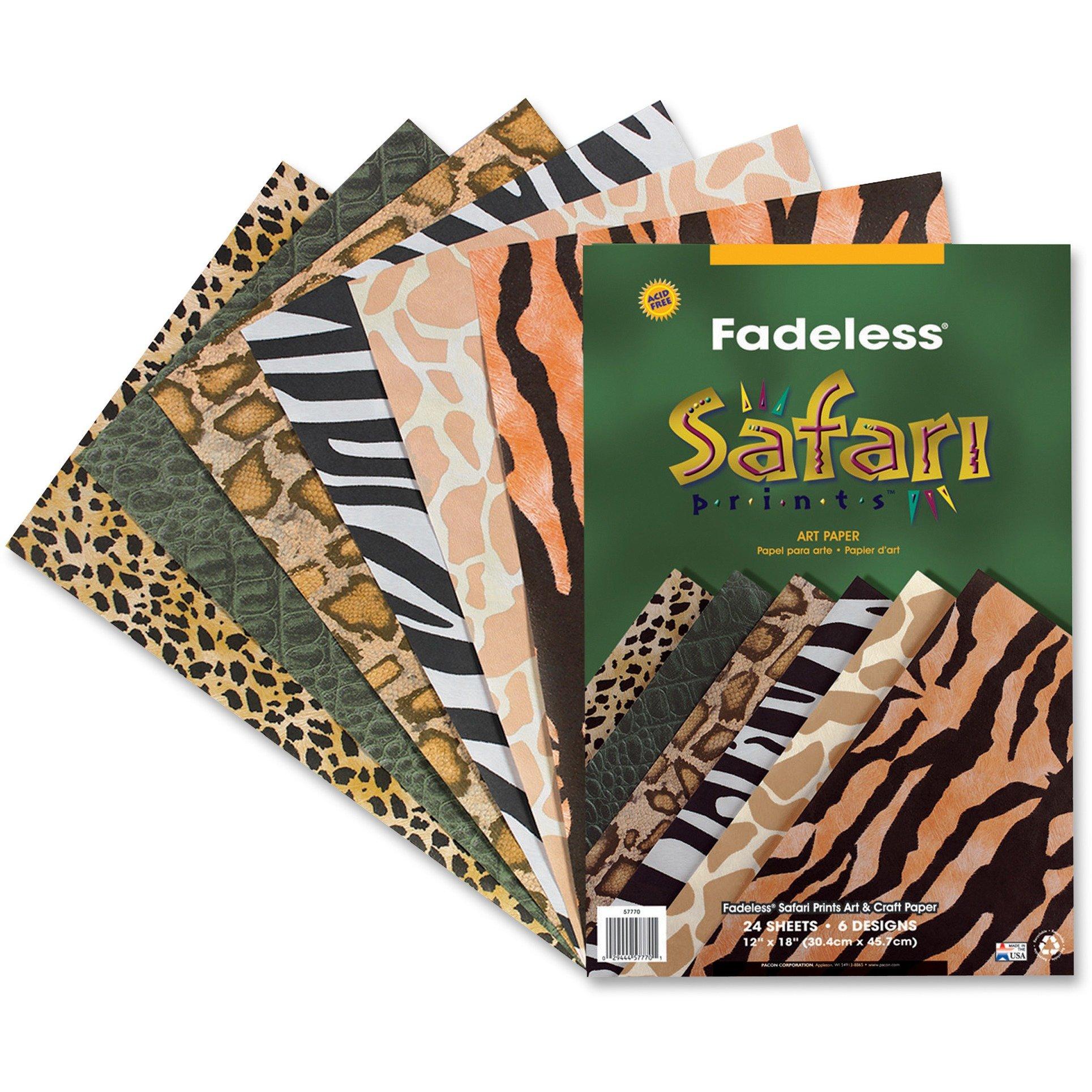 Pacon Fadeless Safari Prints Paper PAC57770
