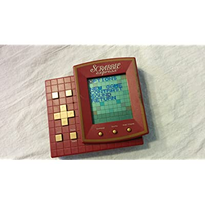 SCRABBLE EXPRESS Electronic Handheld Game (1999 Edition/Includes Instructions): Toys & Games