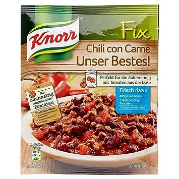 Knorr Fix Chili Con Carne Unser Bestes 3 Portionen Amazonde