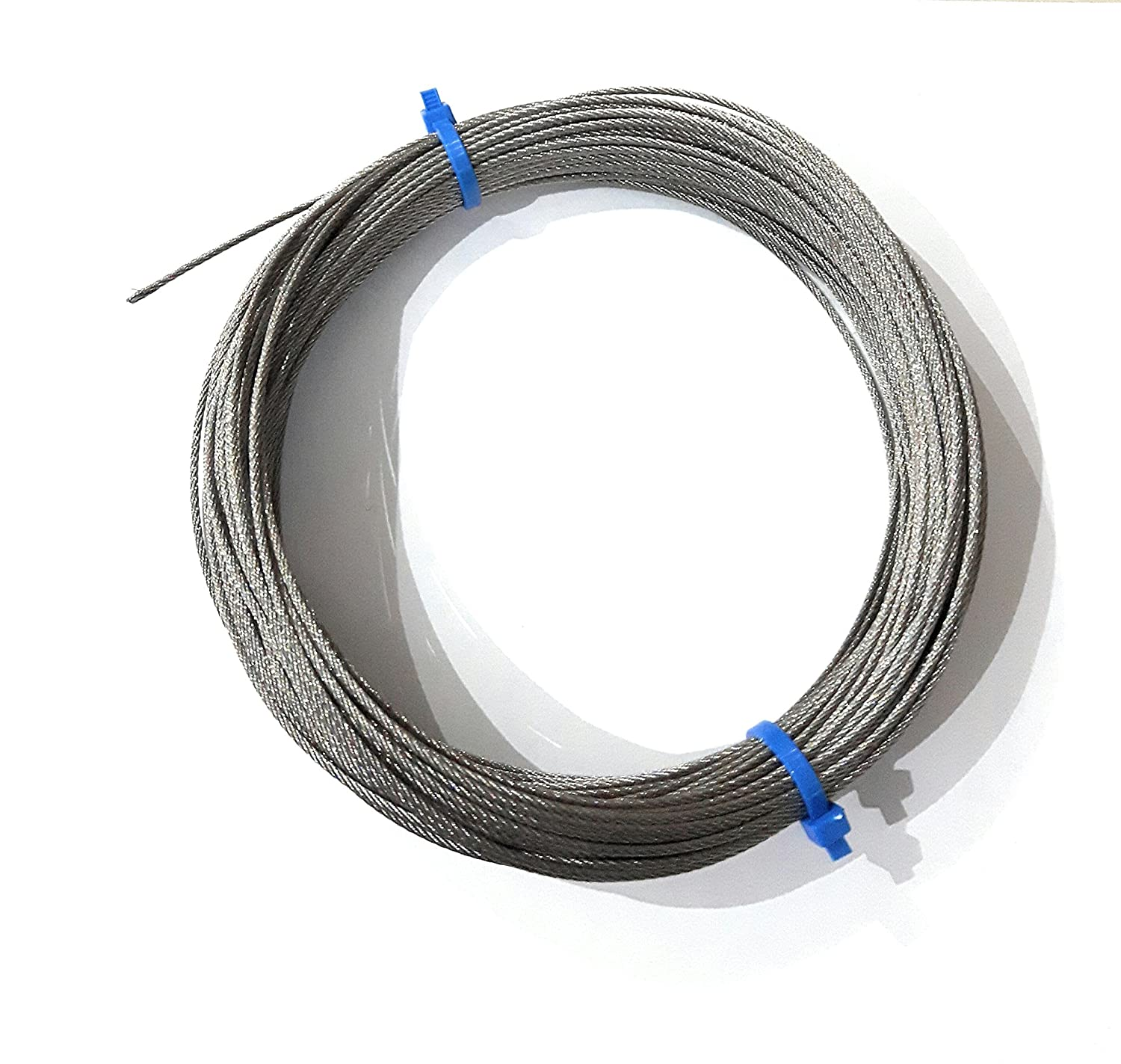 """200 Feet 3//16/"""" Stainless Steel Aircraft Cable Wire Rope Type 7x19 Type 316"""