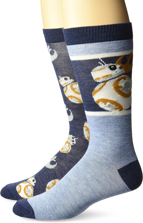 Star Wars Men's 2 Pack Crew Socks