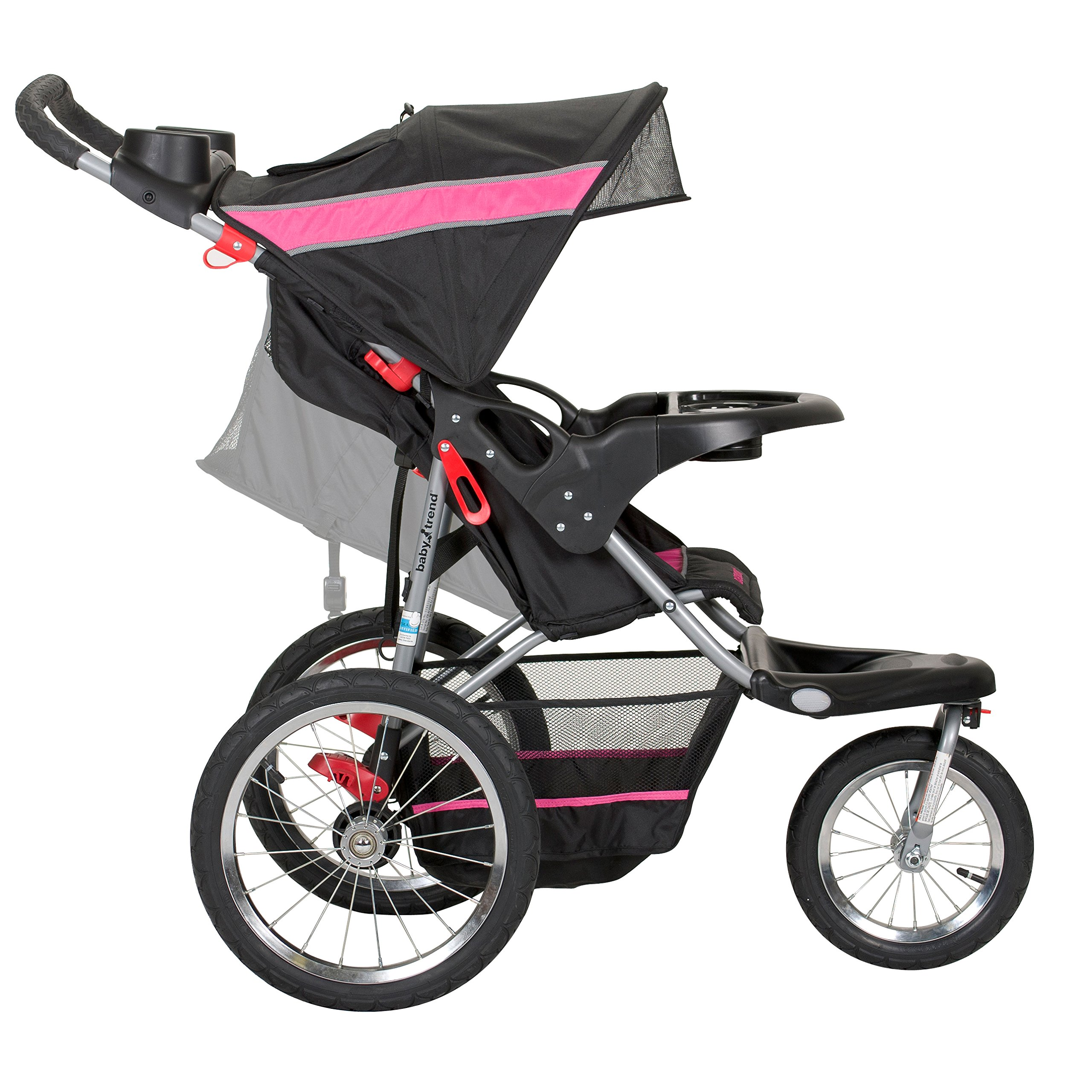 Baby Trend Expedition Jogger Stroller, Bubble Gum by Baby Trend (Image #3)