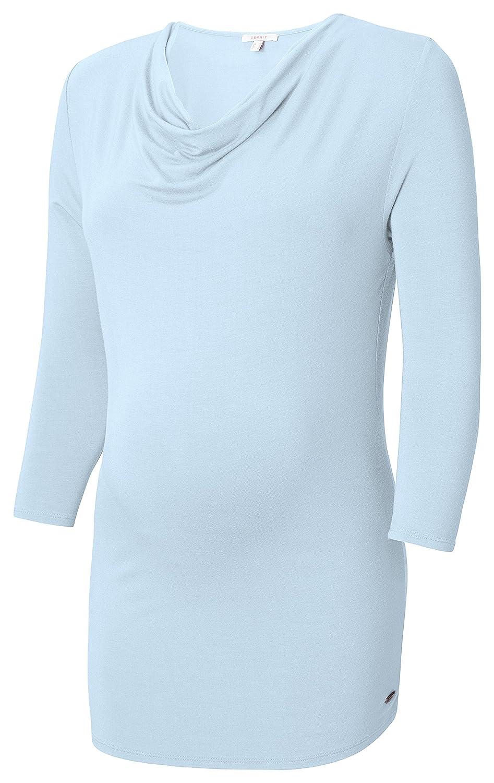 Einfarbig ESPRIT Maternity Damen Umstands T-Shirt Tee