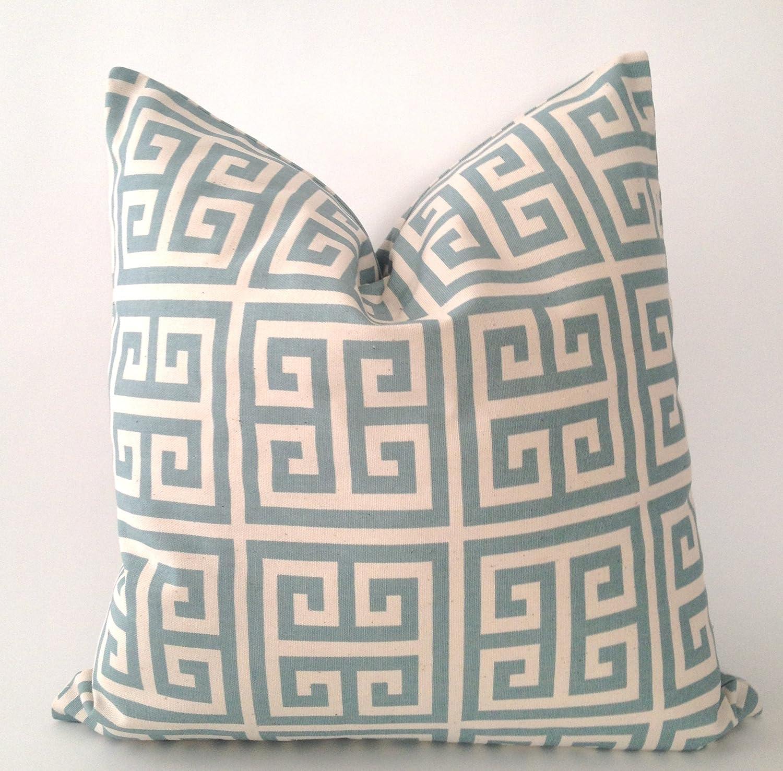Amazon.com: Set of 17 -Greek Key Design Decorative Throw Pillows ...