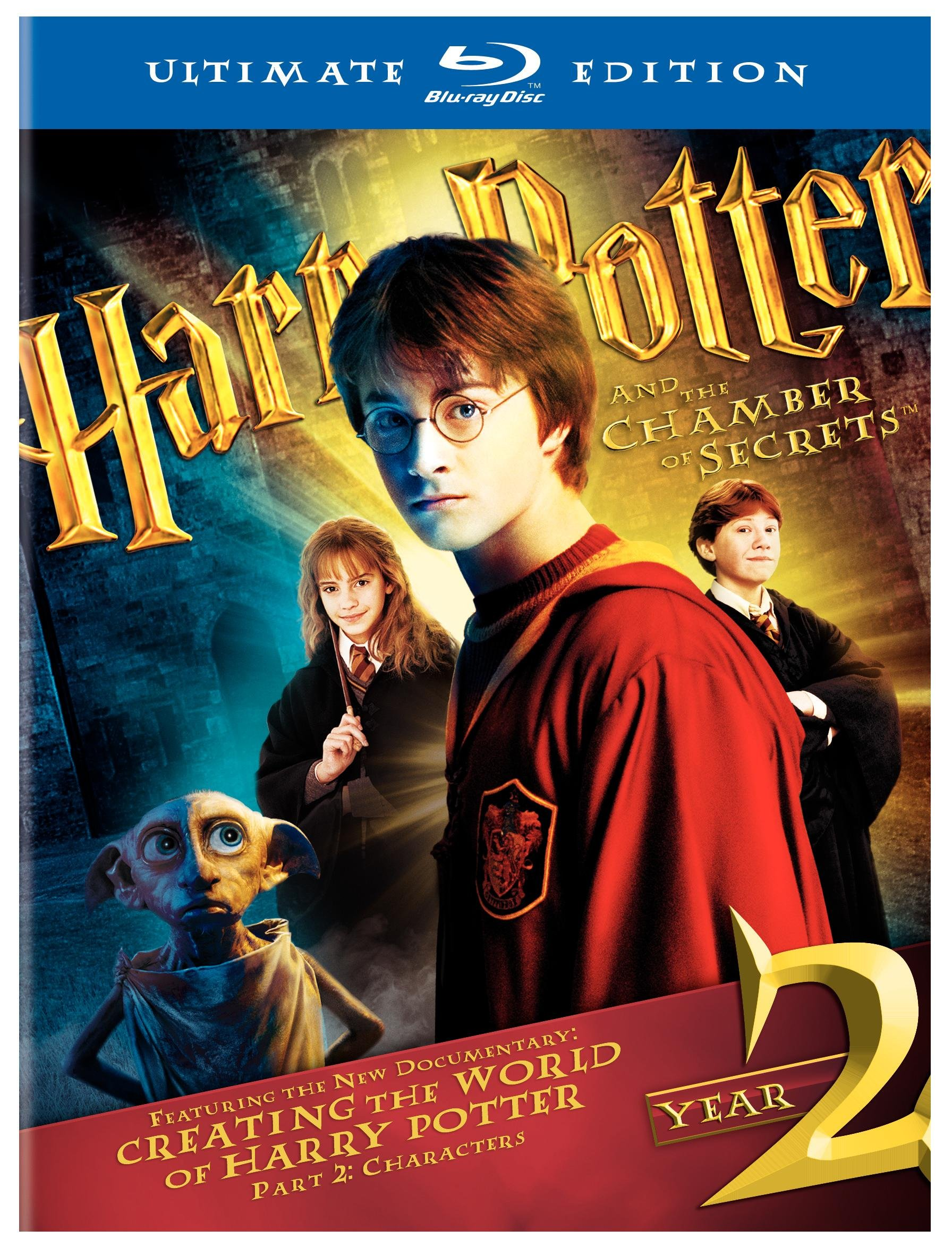Harry Potter and the Chamber of Secrets (Three-Disc Ultimate Edition) [Blu-ray] by Harry Potter