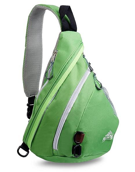 dc587dc18e79 RiteTrak Sports Sling Backpack Best Lightweight Multi-Use Pack for Travel  Hiking Biking or Fitness