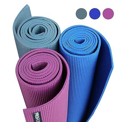 PROIRON alfombrillas acolchadas para yoga, antideslizante ...