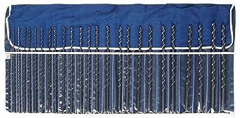 7//16 Black Oxide 49728 Pack of 2 HSS Chicago-Latrobe Taper Length Drill