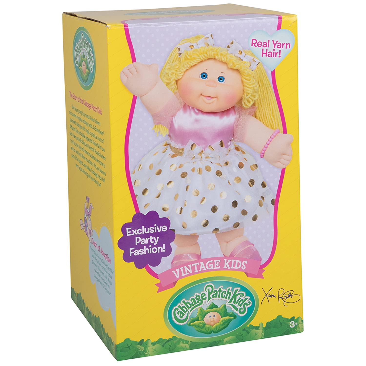 Amazon Cabbage Patch Kids Vintage Retro Style Yarn Hair Doll