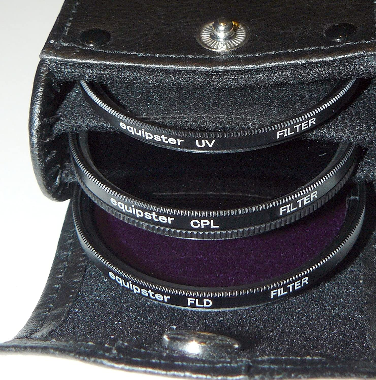 Polfilter Set f/ür Sony E 10-18mm f4 OSS equipster UV SEL-1018