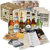 Paquete de 6 especialidades de cerveza de Alemania (las mejores cervezas alemanas) como un juicio a la caja de ingift…