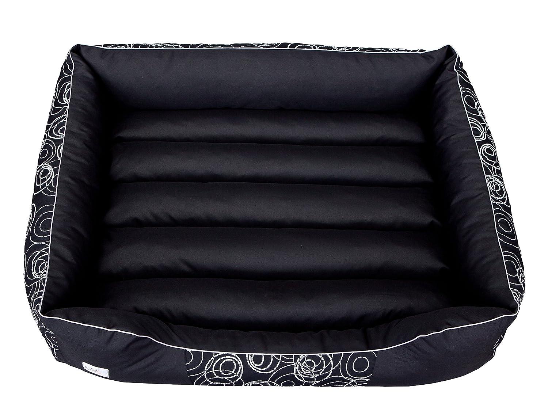 Hobbydog Cordura Prestige - Cama para Perro, tamaño XL, Color Negro con Ruedas: Amazon.es: Productos para mascotas