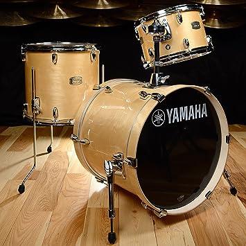 yamaha stage custom. yamaha stage custom birch bebop 12/14/18 3pc kit natural wood