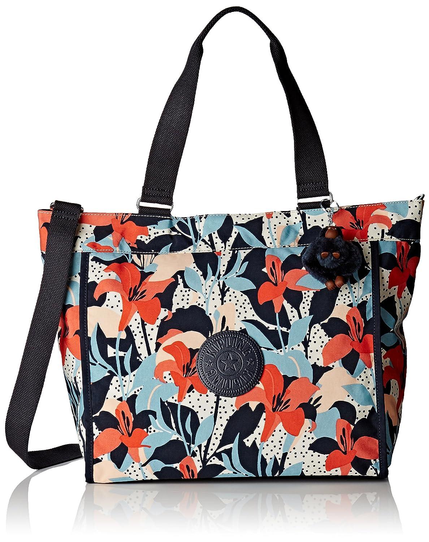 [キプリング] キプリング KIPLING Amazon公式 正規品 NEW SHOPPER L トートバッグ K16659 M13(fiesta animal) K16659 B01M064KD8 Pastel Lily Pastel Lily