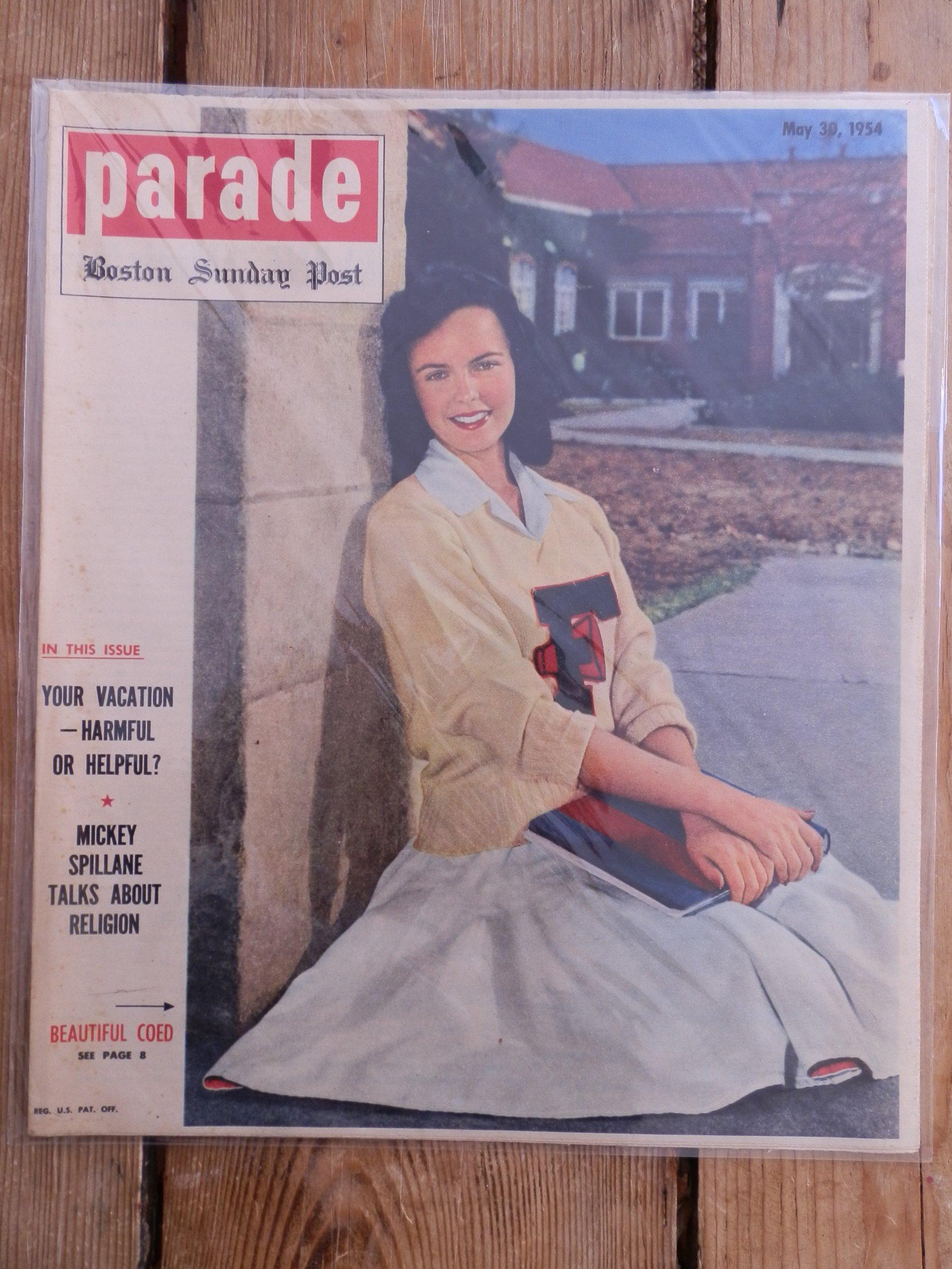 Parade Magazine - Boston Sunday Post May 30 1954: Jess