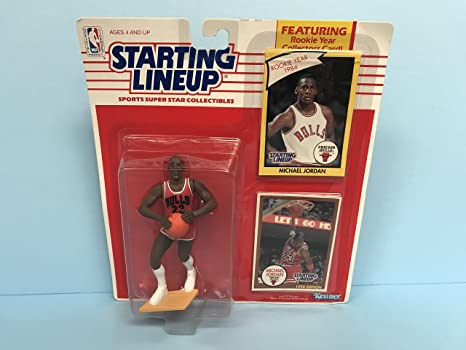 cc3ababa6add Michael Jordan Chicago Bulls Collectible Action Figure Toy with TWO ...