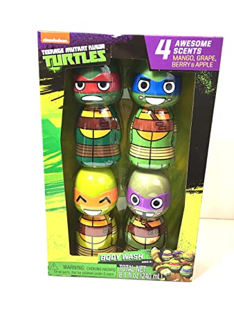 Amazon.com : Teenage Mutant Ninja Turtles body wash set : Beauty