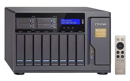 QNAP 12 Bay Thunderbolt 2 Das/NAS/iSCSI IP-San, Intel Skylake Core i7  3 4GHz Quad Core (TVS-1282T-i7-32G-US)