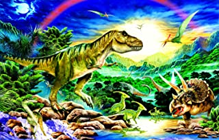 product image for Tyrannosaur - Dinosaur 100 Piece Jigsaw Puzzle by SunsOut