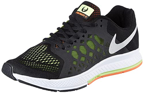 Nike Men s Air Zoom Pegasus 31 Black and Orange Running Shoes -7 UK India  (41 EU)(8 US)  Buy Online at Low Prices in India - Amazon.in b3c2cdce8