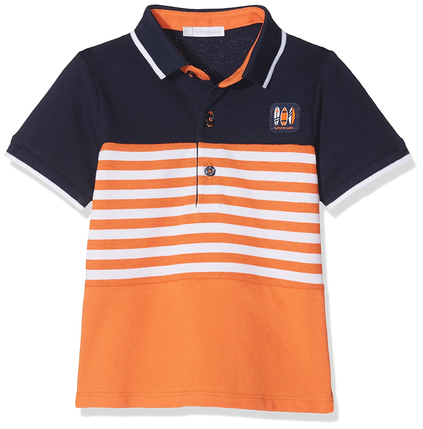 Tutto Piccolo 4843S18 Polo, Naranja (Orange O00), 74 (Tamaño del ...